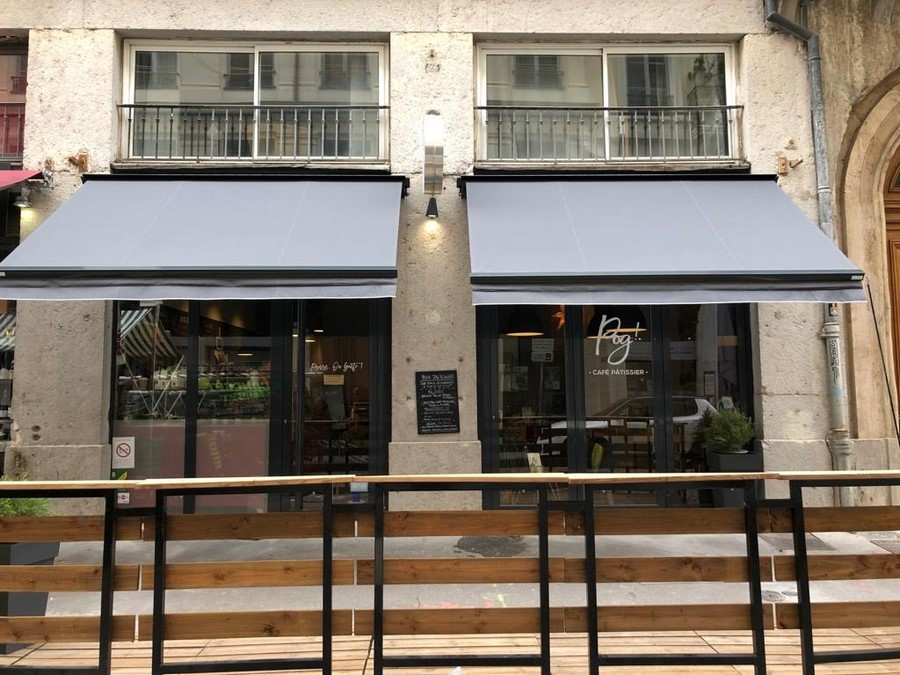 pose de stores en Rhône-Alpes